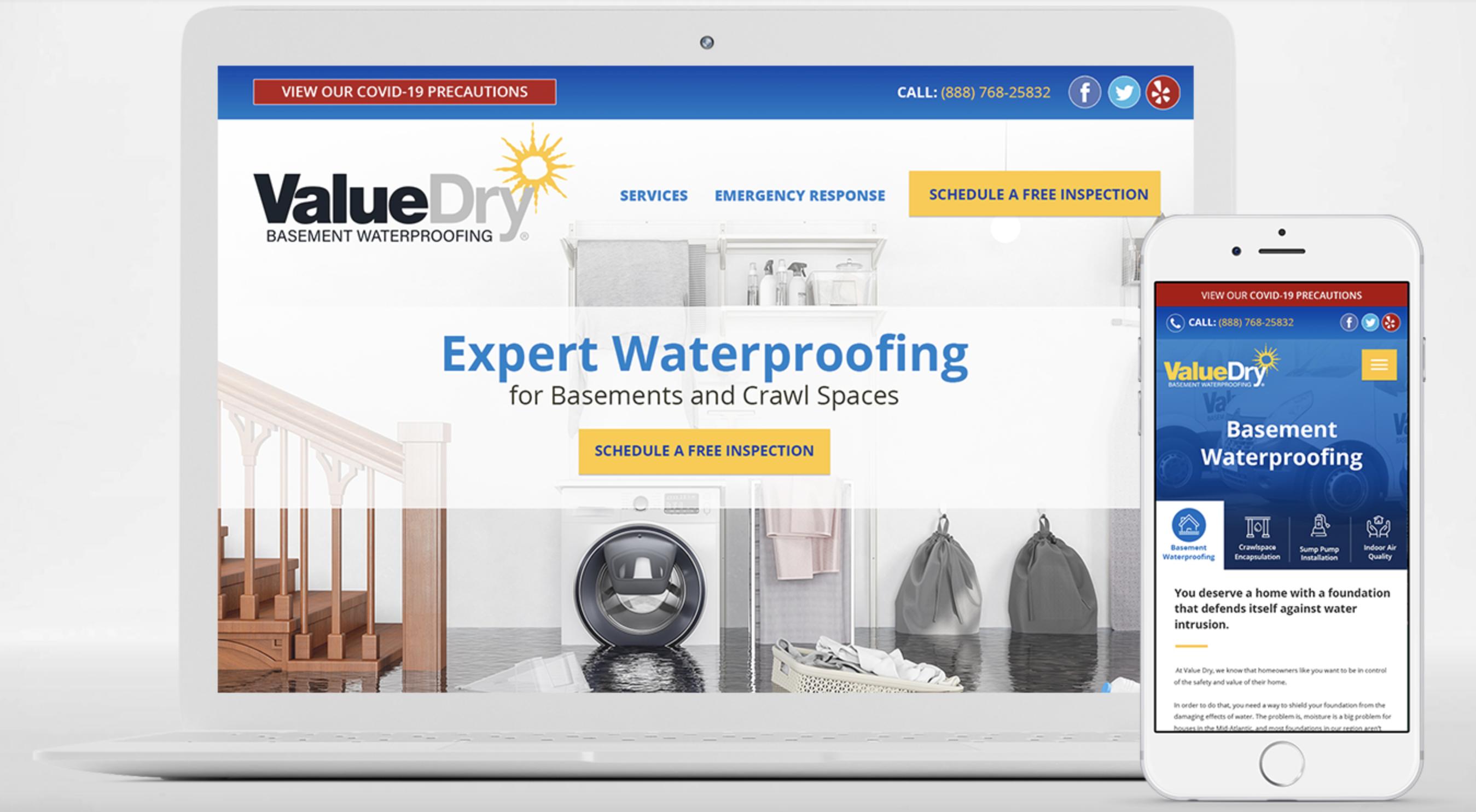 Meet Value Dry Waterproofing